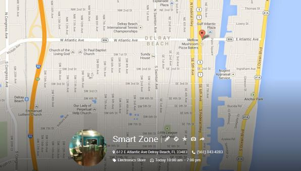 Smart Zone Location